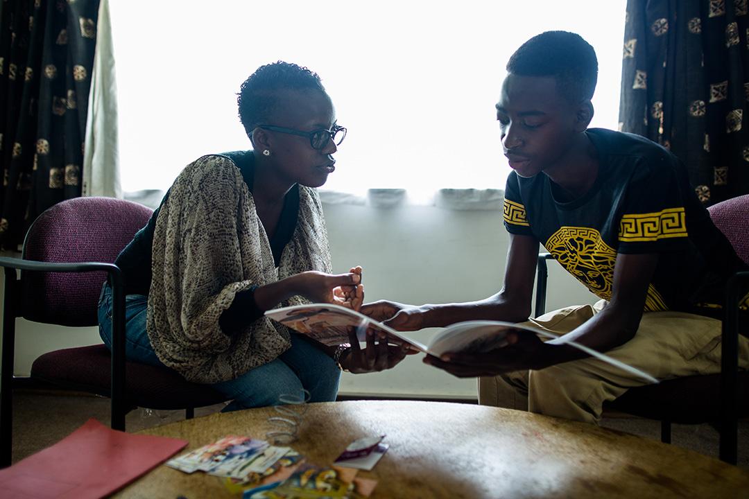 Global Fund beneficiary, Loyce Maturu - Global Fund Advocates Network