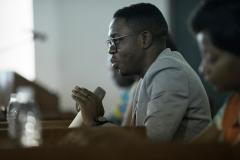 Serge est un militant de la lutte contre le VIH, bien connu au Cameroun. Il a été invité à titre de panéliste lors de la Conférence sur l'impact du Fonds mondial pour atteindre la résilience, à Yaoundé, pour discuter des problèmes auxquels les communautés touchées sont confrontées.